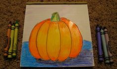 pumpkin value art lesson for kids - Google Search