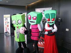 invader zim cosplay