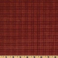 Primo Plaids Flannel Small Plaid Red