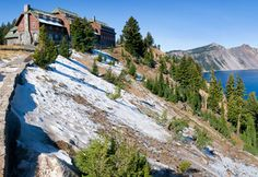 Crater Lake Lodge, Crater Lake National Park, Oregon