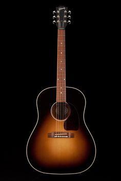Guitar Center: Platinum : Gibson J45 Standard Acoustic Vintage Sunburst