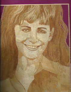 Debbie Mc Intire  Hollywood star Handmade leaf art  by museumshop, $129.00  CAN YOU BELIEVE IT IS MADE OF RICE LEAVES?  Ancient & endangered leaf art collectible for your wall.