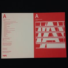 'A' is for Alphabet Artwork' by artist Anna Lucas #tatelearning