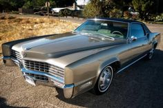 This 1967 Cadillac Eldorado is said to be an 80k-mile example with an original interior that's in excellent condition, a new vinyl top and newer paint in the original color. The car is said to run well and recently did a 270-mile trip without a problem. Find it here on Craiglist in the Dublin,