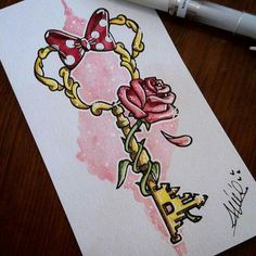 Key to the kingdom tattoo design