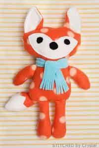 Stuffed Fox Pattern