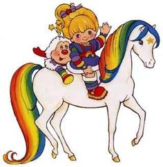 Rainbow Brite!  I wanted my own Sprite and I loved the little tinkly sounds the color crystals made!