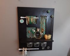 A personal favorite from my Etsy shop https://www.etsy.com/listing/257326094/rystic-shabby-chic-jewelry-organizer