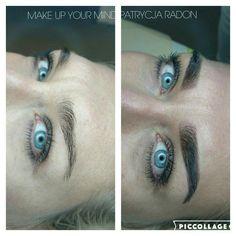Powder brows  Makeupyourmindgdynia@gmail.com