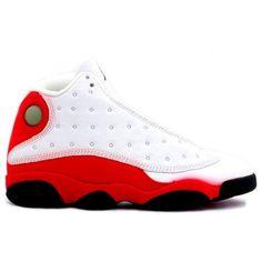quality design a9fac d7b49 136002 101 Nike Air Jordan 13 xiii Original (OG) White Black True Red