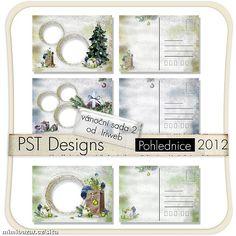 Vánoční pohlednice vzor 8 Photos