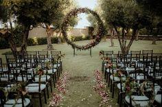 Decoração de cerimônia de casamento: ideias lindas para 2018! Image: 8