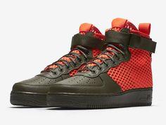 Nike SF-AF1 Mid QS Cargo Khaki Total Crimson-3