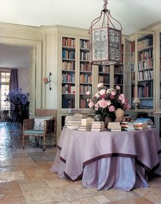 "When Janet and Gilbert de Botton set about finding a house in the South of France, they finally settled on a 1,000 acre bull farm in Provence.  From it, they created, along with decorator and landscape architect Jean-Louis Raynaud and his partner Kenyon Kramer, ""one of the great contemporary estates of our time."" Jacob Rothschild […]"