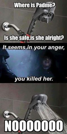Why must this make me laugh?// didnt like when they did this in the prequels… - Star wars funny Star Wars Rebels, Star Wars Witze, Star Wars Jokes, Funny Star Wars Quotes, Sarkastischer Humor, Cuadros Star Wars, Rasengan Vs Chidori, Millenium, Millennium Falcon
