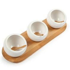 Entertainment Set Round 3 Piece, $12, now featured on Fab.