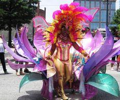 flower costume - Atlanta Caribbean Carnival - The City Dweller