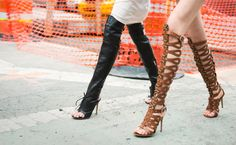 How high can you go? Altuzarra Boots  photographed by Tommy Ton