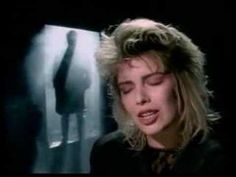 """You Keep Me Hangin On"" performed by Kim Wilde (original music video - via You Tube) #Music"