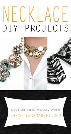 Necklace DIY Projects - The Cottage Market