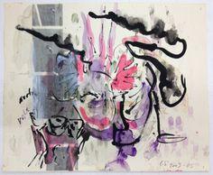 Carolee Schneemann, 'Terminal Velocity, Pale Sky (D),' 2003-2005