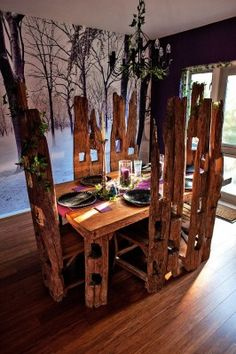 Paul Gardner's Perfect Dining Room, I WANT SO BAD, it's like something out of a fairy tale....