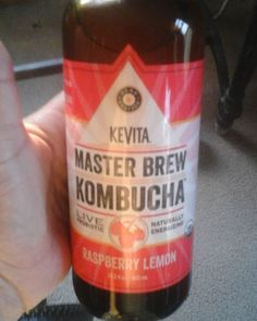 Guess whose a #happy girl?! I found this at our local grocery store! Thank you #strack for the #love  #kevita #masterbrewkombucha #kombucha #happydance #probiotics #yummy #healthy