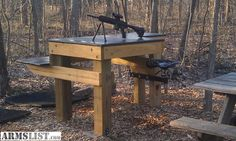 1000 Images About Shooting Range On Pinterest Shooting Bench Shooting Bench Plans And