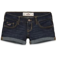 Hollister Co Hollister Classic Short Shorts ($40) ❤ liked on Polyvore