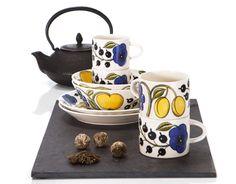 Arabia - Paratiisi Small Things, Scandinavian Style, Finland, Tea Time, Plates, Interior Design, Cool Stuff, Tableware, Modern