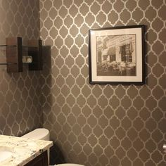 Powder Room - contemporary - bathroom - ottawa - KM Decor
