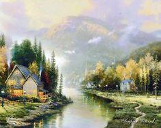 Thomas Kinkade Painting 109.jpg