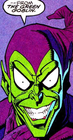 "jthenr-comics-vault: "" Green Goblin Spectacular Spider-Man (May Art by Sal Buscema Words by J. Marvel Villains, Marvel Comics Art, Old Comics, Vintage Comics, Marvel Characters, Comic Book Artists, Comic Artist, Comic Books Art, Spiderman Kunst"