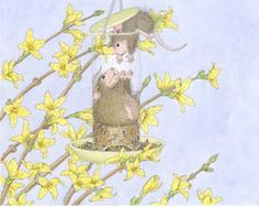 Shop House-Mouse Designs® - Post Cards created by HouseMouseDesigns. House Mouse Stamps, Cartoon House, Mouse Color, Pet Mice, Cute Mouse, Little Critter, Penny Black, Image House, Illustration Art
