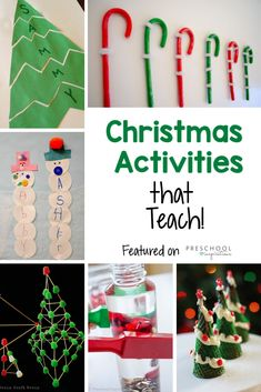 Christmas Activities for Kids that Teach