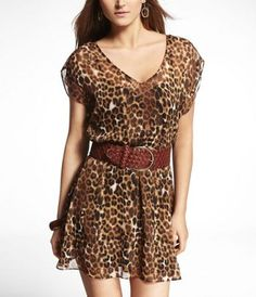 This is a dress, but I would wear it with leggings and boots, or narrow slacks and sandals. $41.93