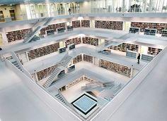La Biblioteca de la Ciudad de Nueva Stuttgart - Alemania