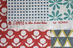 kokka-fabric, ellen from the long thread. loooove