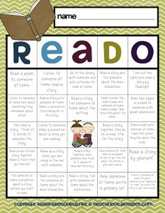 FREE Reado, Write, and Matho choice boards - super!!
