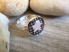 """Ringe - Glasperlen-Ring """"Star-Dots"""" - ein Designerstück von Soulmate-Works bei DaWanda"""