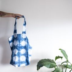 From IAMTHELAB.com Handmade Profiles: Handmade Shibori Textiles from Leonard and Co.