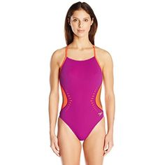 Speedo Women's Lzr Cut Turnz One Piece Swimsuit *** Learn more by visiting the image link. (This is an affiliate link) #Swimwear