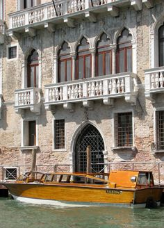 Venice, Italy.... Just like the boat we rode daily from the Lido.