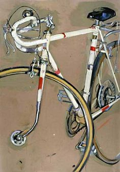 Bicycle & Art (Taliah Limpet) Lovely painting