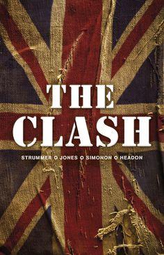 """Joe Strummer, Mick Jones, Paul Simonon, Topper Headon """"The Clash"""" (Modernista 2011). Översättning: Jens Ahlberg. Förord: Joakim Thåström"""