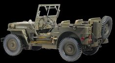 Dragon Military 1/6 US 1/4-Ton 4x4 Willys Jeep Kit