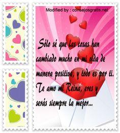 romànticas frases para enamorar a mi novia,buscar las mejores palabras de amor para mi enamorada:http://www.consejosgratis.net/mensajes-de-amor-para-la-mujer-que-amas/