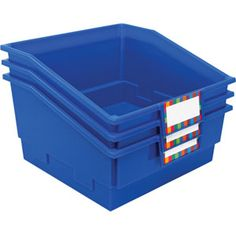 Picture Book Classroom Library Bins™– Single Color