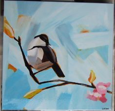 Painted by me - the original is by Angela Moulton!