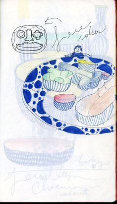 Choemon sketch by Jaime Hayon